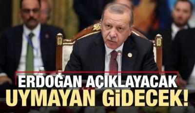 Erdoğan açıklayacak: Manifestoya uymayan gidecek
