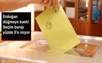 Erdoğan Düğmeye Bastı! Seçim Barajı Yüzde 5'e İniyor