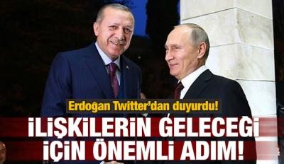 Erdoğan: İlişkilerin geleceği için önemli adım