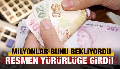 Erdoğan onaylamıştı, Resmi Gazete'de yayımlandı