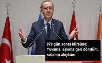 Erdoğan, Partili Olduktan Sonra İlk Kez Grup Kürsüsüne Çıktı: Yuvama, Aşkıma Geri Döndüm