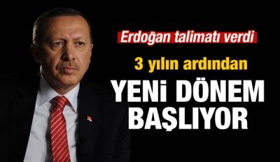 Erdoğan talimat verdi! Yeni dönem başlıyor...