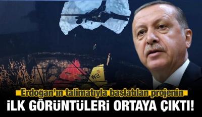 Erdoğan talimat vermişti! İlk görüntüler geldi