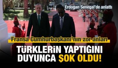 Erdoğan: Türklerin yaptığını duyunca şok oldular