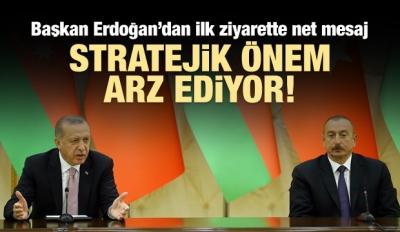 Erdoğan ve Aliyev'den ortak açıklama