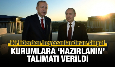Erdoğan ve Putin açıkladı: Yeni anlaşmalar geliyor