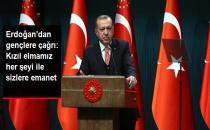 Erdoğan'dan Gençlere Çağrı: Kızıl Elmamız Her Şeyi İle Sizlere Emanet