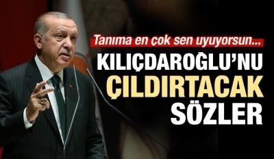 Erdoğan'dan Kılıçdaroğlu'nu çıldırtacak sözler!