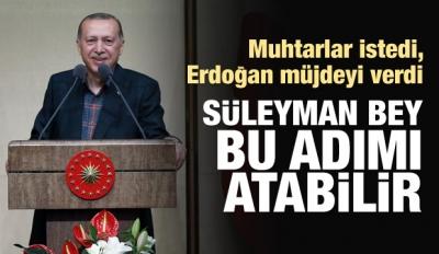 Erdoğan'dan müjde: Sayın Soylu bu adımı atabilir