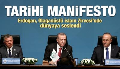 Erdoğan'dan Tarihi Zirvede Tarihi Mesajlar!