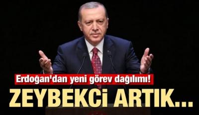 Erdoğan'dan yeni görev dağılımı! Zeybekci artık...