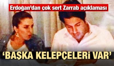 Erdoğan'dan Zarrab yorumu! Başka kelepçeleri var