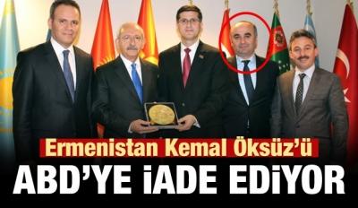 Ermenistan, Kemal Öksüz'ü ABD'ye iade ediyor
