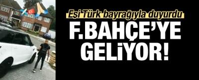 Eşi duyurdu! F.Bahçe için İstanbul'a geliyor