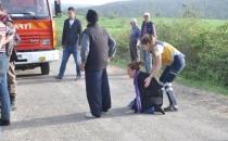 Eşi Ölen Kadının Kaza Yerinde Feryatları Yürekleri Dağladı!