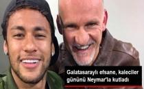 Eski Galatasaraylı Taffarel, Barcelona'lı Neymar'la Fotoğraf Paylaştı