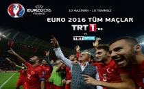 Euro 2016 Tüm Maçlarıyla TRT1 ve TRT Spor'da