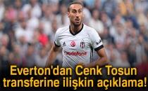 Everton'dan Cenk Tosun Transferine İlişkin Açıklama!