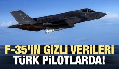 F-35'in gizli verileri Türk pilotlarda