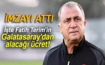 Fatih Terim İmzayı Attı |İşte Fatih Terim'in Galatasaray'dan Alacağı Ücret