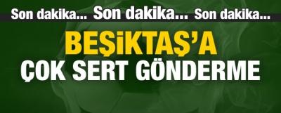 F.Bahçe'den Beşiktaş'a çok sert gönderme!