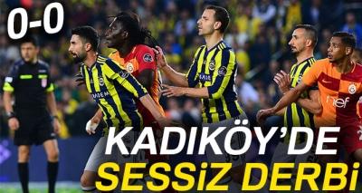 Fenerbahçe 0-0 Galatasaray (Maç Sonucu)