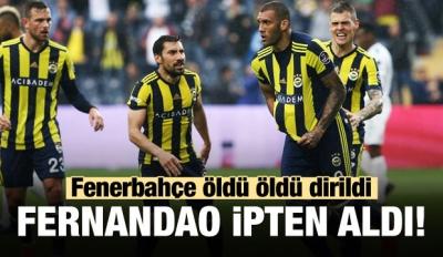Fenerbahçe 2-1 Bursaspor (Maç Sonucu)