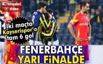 Fenerbahçe 3-0 Kayserispor (Maç Sonucu)