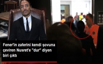 Fenerbahçe'nin Soyunma Odasına Girmeye Çalışan Nusret, Güvenliğe Takıldı