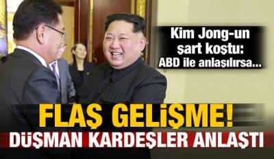 Flaş gelişme! Güney ve Kuzey Kore anlaştı