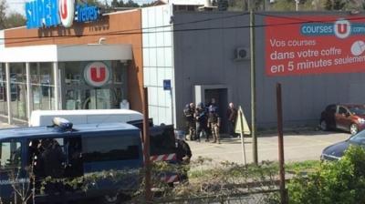 Fransa'da 'DEAŞ' şoku! Müşteriler rehin alındı