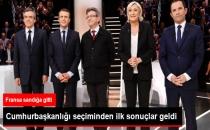 Fransa'da Emmanuel Macron ve Marine Le Pen İkinci Tura Kaldı