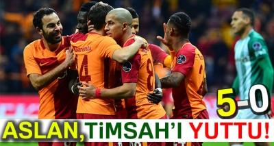 Galatasaray 5-0 Bursaspor (Maç Sonucu)
