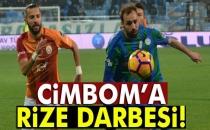 Galatasaray'a Rize Darbesi!