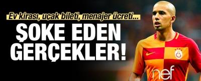 Galatasaray'da şoke eden Feghouli gerçekleri!