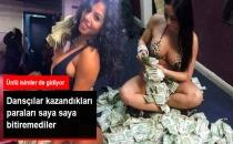 Gece Kulüplerinde Çalışan Dansçılar, Kazandıkları Paraları Sosyal Medyadan Paylaşıyor