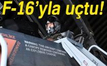 Genelkurmay Başkanı Akar, F-16D Uçağı İle Uçuş Gerçekleştirdi