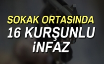 Giresun'da Sokak Ortasında 16 Kurşunlu İnfaz!