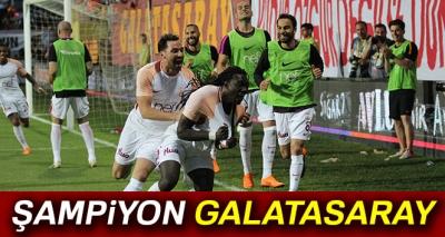 Göztepe 0-1 Galatasaray (Maç Sonucu) 2017 - 2018 Sezonu Şampiyonu Galatasaray...