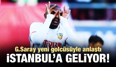 G.Saray yeni golcüsünü buldu! İstanbul'a geliyor