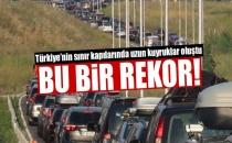 Gurbetçilerden Türkiye'ye Rekor Giriş