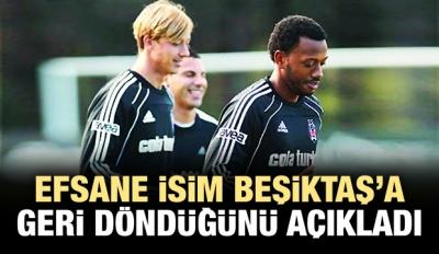 Guti, Beşiktaş'a geri döndü!