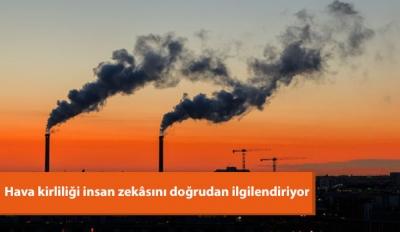 Hava Kirliliği İnsan Zekâsını Doğrudan İlgilendiriyor
