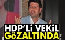 HDP Batman Milletvekili Mehmet Ali Aslan Gözaltına Alındı