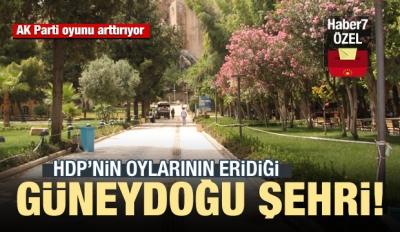 HDP'nin oylarının eridiği Güneydoğu şehri!