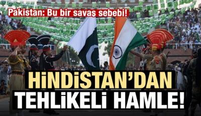 Hindistan Keşmir'in özerkliğini kaldırdı!
