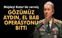 Hulusi Akar: 'Gözümüz Aydın, El Bab Operasyonu Bitti'