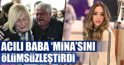 Hüseyin Başaran uçak kazasında kaybettiği kızı Mina Başaran'ın adını hangarın ve uçağın üzerine yazdı