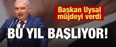 İBB Başkanı Uysal'dan Kanal İstanbul açıklaması