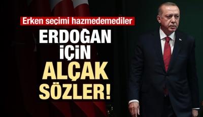 İngiliz Guardian'dan Erdoğan'a alçak sözler